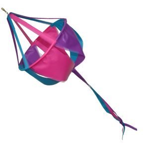 Single basket windsock fuschia