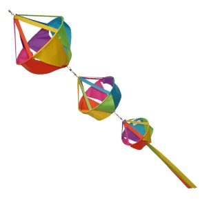 Twirling Basket Windsocks