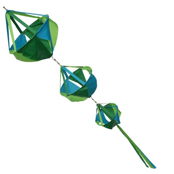 Basket triple windsock - Oceana
