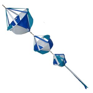 Triple basket windsock seaside