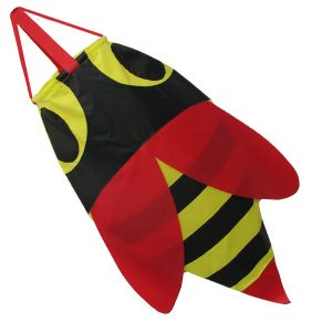 Yellow bee windsock