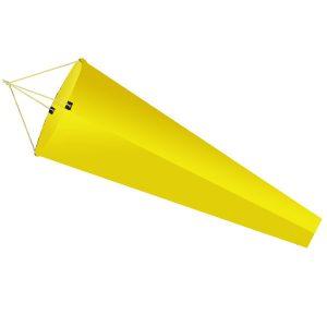 Yellow flightsock