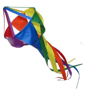 Jellyfish windsock rainbow